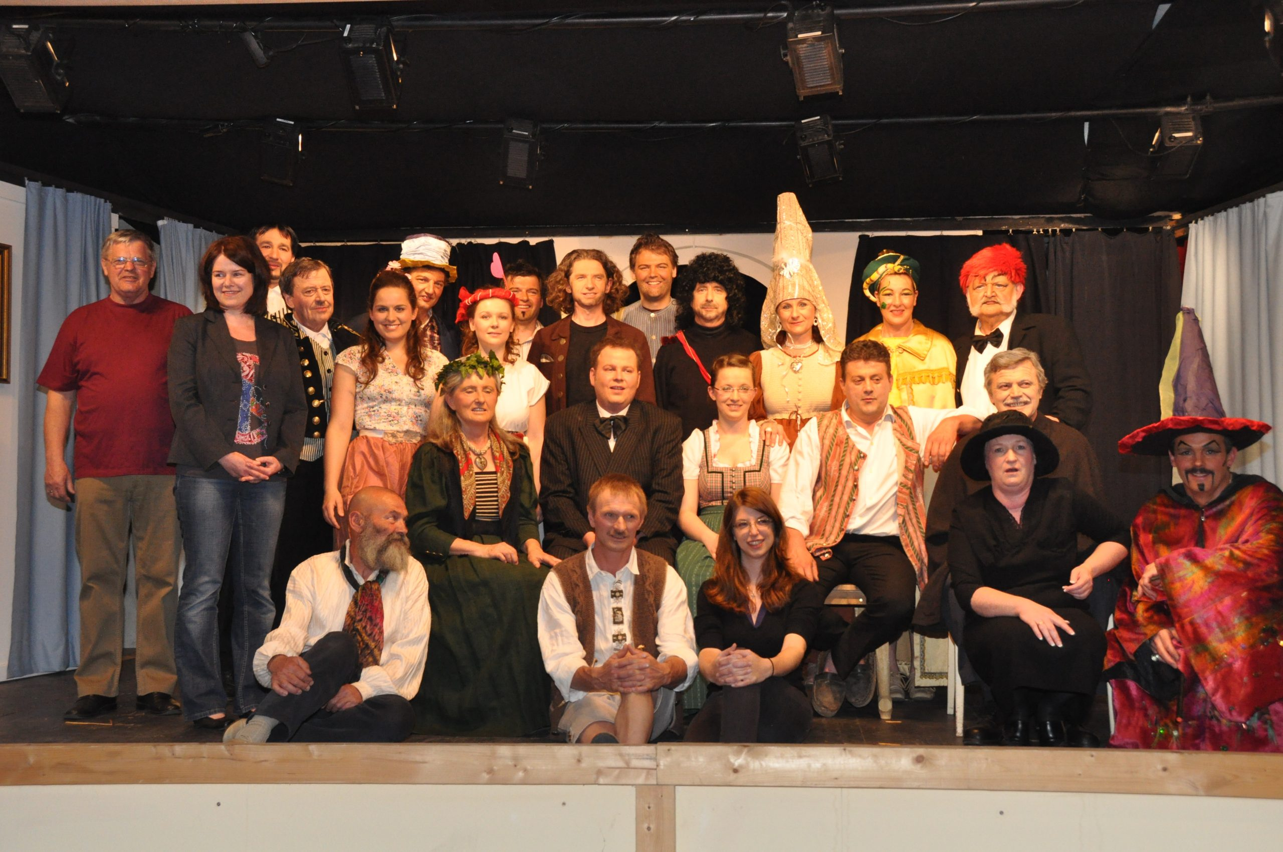 Der Bauer als Millionär - Stück 2011 - St.Pantaleon