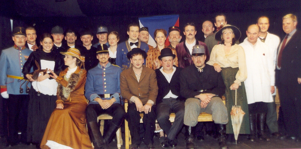 Der brave Soldat Schwejk - Stück 2005 - St.Pantaleon