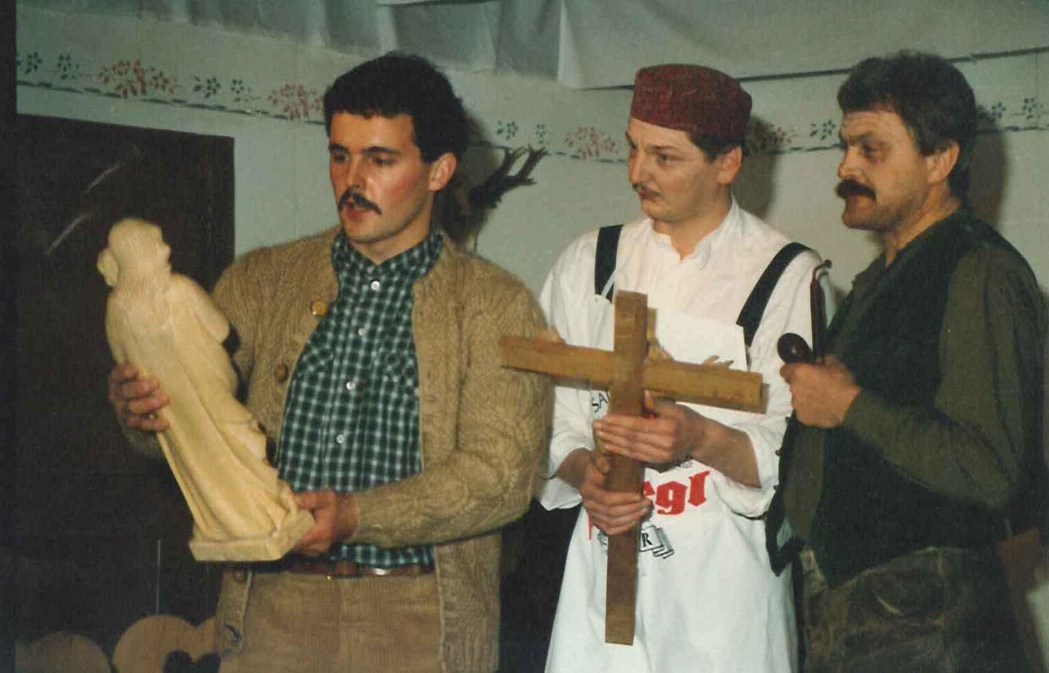 Der Herrgottschnitzer - Stück 1992 - St.Pantaleon