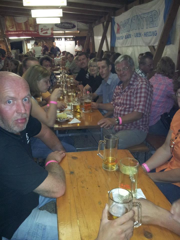 Feuerwehrfest Eching - Gruppe - St.Pantaleon