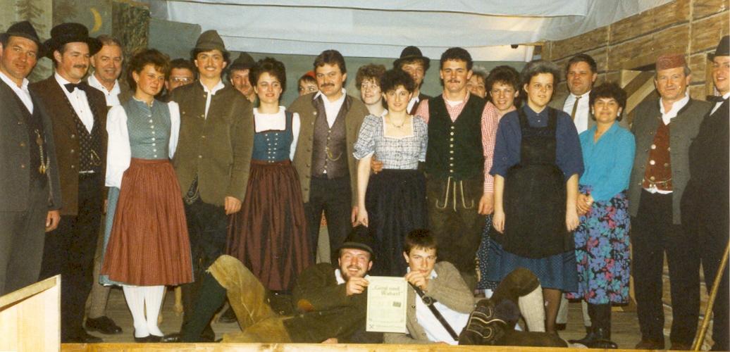 Girgl und Waberl - Stück 1989 - St.Pantaleon