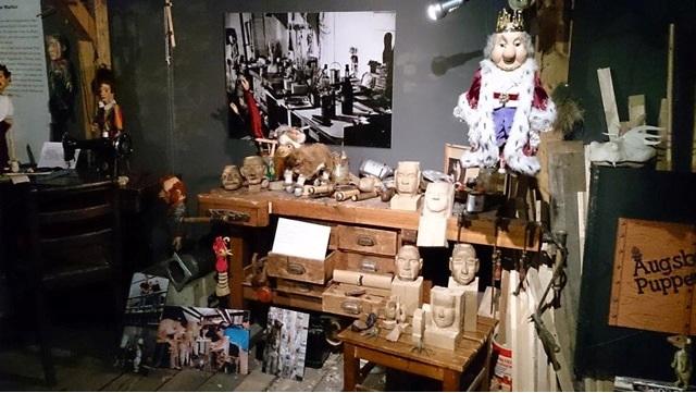 Theaterausflug 2014 - Augsburger Puppenkiste - Werkstatt - St.Pantaleon