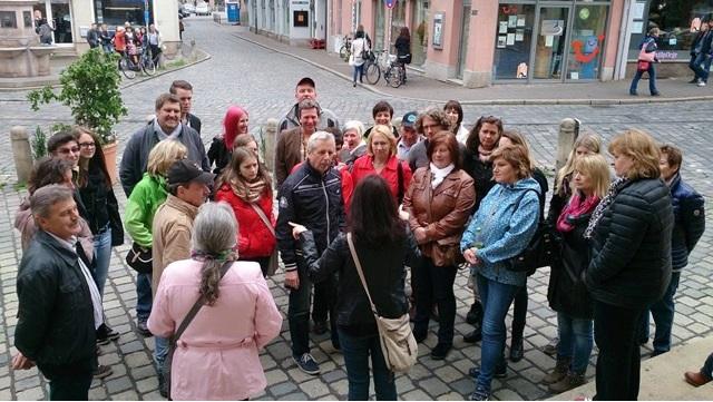 Theaterausflug 2014 - Stadtrundfahrt - St.Pantaleon